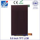 Resolución TFT LCM de 5.0inch 480 * 854 Fwvga para las aplicaciones ampliamente