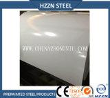 Bobina de acero cubierta color blanco puro para los azulejos de material para techos