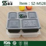 5 Fach-Wegwerfplastikschlange-Behälter für Großverkauf