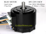 Motor sin cepillo alto de la eficacia 10kw 48V/72V/96V para la conversión eléctrica de la moto