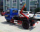 Le petit tricycle 3 roule 1 tonnes de bras de cadre de roulis que 1 T mini tombent le camion d'ordures