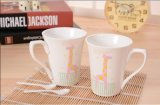 Pequeñas tazas de cerámica del café con leche de la venta caliente para la promoción