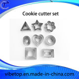 El moho de grado alimentario de acero inoxidable Animal Cookie Cutter Set