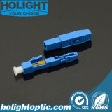 LC fibra óptica conector rápido