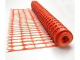 Grelha de advertência de laranja Malha de segurança de plástico