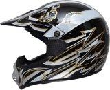 2017太字の盾のバイザー、Casco Motoの安全ヘルメットが付いている熱い販売のモトクロスのヘルメット