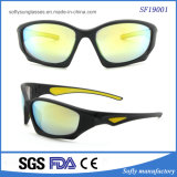 2017 Novo Estilo de venda de soluções de finalização de fotograma completo Preto Sport óculos de sol no exterior