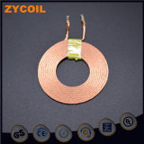 Fabrique la bobine d'en cuivre de récepteur d'émetteur