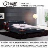 Самая последняя кровать кожи конструкции 2017 для комплекта спальни (FB8142)