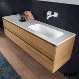 Lavabo moderno del Governo del dispersore della resina della pietra della mobilia della stanza da bagno