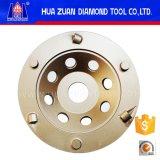 Type de pouce PCD de Huazuan 7 roues de cuvette de diamant pour retirer époxy