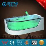 De nieuwe Badkuip van de Massage van Waren Saniatry Freestanding met Aangemaakt Glas voor Badkamers (BT-A1009)