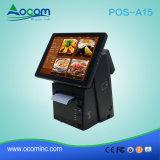 POS-A15 Windows Android сенсорный экран Электронный кассовый аппарат с принтером