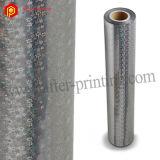 Película que lamina termal olográfica de la plata BOPP