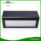 48 LED micro-ondes radar détecteur de mouvement solaire lumière témoin de sécurité 800lm étanche extérieur de l'éclairage de jardin
