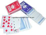 Alta qualidade revestida plástica dos cartões de jogo