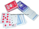 Überzogene Spielkarte-Plastikqualität