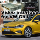 Поверхность стыка автомобиля видео- для места 2014-2017 Фольксваген Passat Golf7 Skoda etc с системой Mqb, Android задим навигации и панорамой 360 опционной