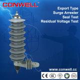 Type en gros parafoudre de sous-station de saut de pression de distribution d'oxyde de zinc