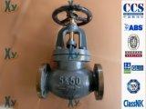 Moldeada marina Hierro válvula de globo Válvula de retención JIS F7307 F7375 10k
