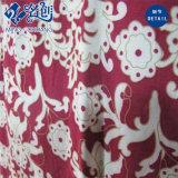 El patrón de flores de manga larga roja moda vestido nuevo