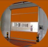Porta rápida do obturador do rolo do PVC da alta velocidade inteligente exterior da prova do vento