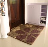 豪華な花デザインPP材料TPRの基礎ドア・マット