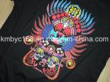 Machine d'impression à plat en gros de T-shirt avec le modèle coloré