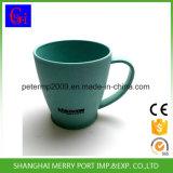 ハンドル、ハンドルが付いているコーヒー・マグが付いている400ml 14ozのムギのファイバーのコップ