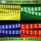 luminosità eccellente ad alta tensione dell'indicatore luminoso di striscia di 120LEDs/144LEDs LED 5050SMD
