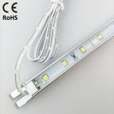 DC12V SMD3528 Lampe de lumière rigide à LED en aluminium pour chambre à coucher