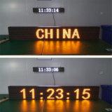 Écran jaune simple d'Afficheur LED de l'IMMERSION P10 pour la publicité des textes