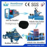 Gomma residua che ricicla/macchina di gomma ripresa/linea di produzione di gomma della polvere