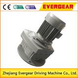 Boîte de vitesses à réduction verticale du moteur électrique de la série R