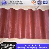 Ral9003 PPGLのカラーによって塗られる波形を付けられた屋根シートの波のタイル