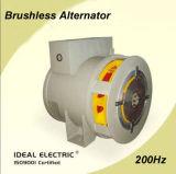 Альтернатор генератора AC трехфазный 8-Pole 40kw 200Hz безщеточный одновременный тепловозный