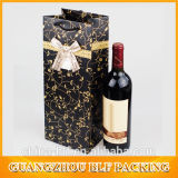 PP Handle Wine Bag garrafa de papel