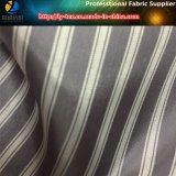 Черная подкладка костюма, ткань нашивки полиэфира покрашенная пряжей для одежды (S18.20)
