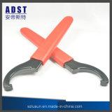 ツールを締め金で止める高い硬度のタイプC 45-52のホックスパナーの締める物