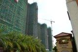Grúa de la construcción de edificios