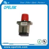 Амортизатор оптического волокна Sc/FC 10dB (женщин-женщины) фикчированный