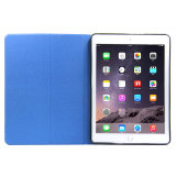 iPadのプロ立場のケースのための多彩なFilpの革タブレットの箱