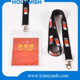 Coutume colorée de lanière pour la courroie de nylon de cadeau de promotion
