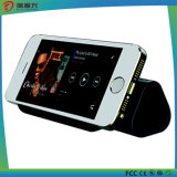 3 promotionnels dans 1 haut-parleur du haut-parleur 6600mAh Bluetooth de côté de pouvoir avec le stand