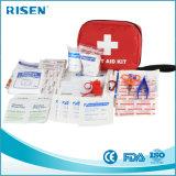 Comercio al por mayor de etiqueta privada de los primeros auxilios Kit médico para viajes