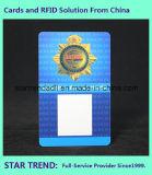 Cartão de identificação Cr80 com faixa magnética para segurança