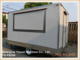 Ys-Fb350 3.5m panneau renforcé en fibre de verre Fast Food Mobile Kitchen Trailer