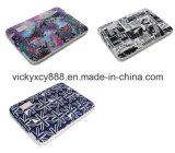 chemise de sac de cahier d'ordinateur portatif de tablette PC de la toile 15inch (CY3591)