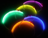 8 '' * 2 Glow Sticks individual Foilbag Glow Hairband