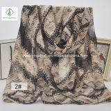 100% dickflüssige neueste geometrische rhombische gedruckte Schal-Form-Dame Scarf